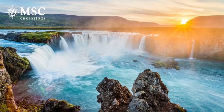 Croisière Merveilles d'Islande, d'Écosse & Îles Orcades - 12 jours - Surclassement** Offert !