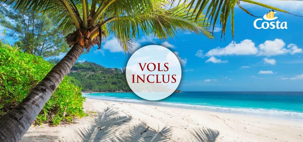 18 jours Vol inclus Transatlantique Espagne, Canaries, Antilles, Turks et Caicos, Bahamas