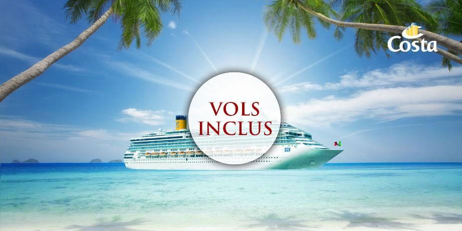 -50% sur le deuxième passager et Boissons à volonté incluses** Vols inclus Croisière aux Caraïbes