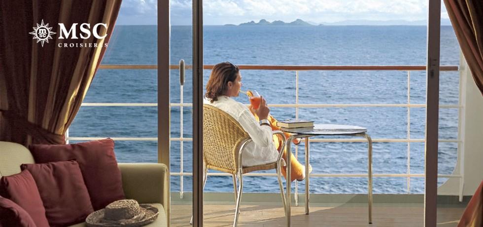 Au départ de Cannes ! A bord du MSC Grandiosa 5* Italie, Majorque, Espagne