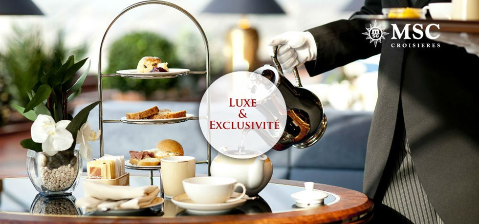 REMISE SPECIALE Yacht Club : Luxe & Exclusivité** A bord du MSC Seaview 5*