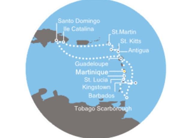 Îles martinique par correspondance