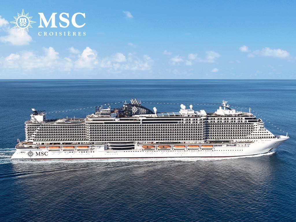 MSC SEASIDE - Méditerranée - CROISIÈRE AU DÉPART DE MARSEILLE (FRANCE)