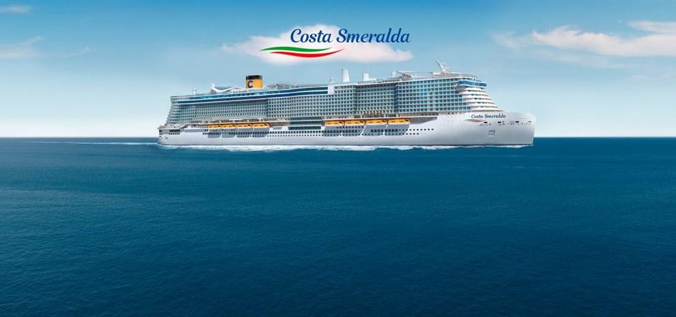 A bord du Tout Nouveau Costa Smeralda 5* L'éclat de la Méditerranée : Espagne, Majorque, Italie