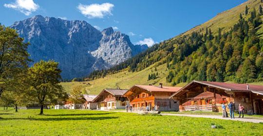 Circuits d couverte et nature au tyrol tirol top of for Nature et decouvertes tours