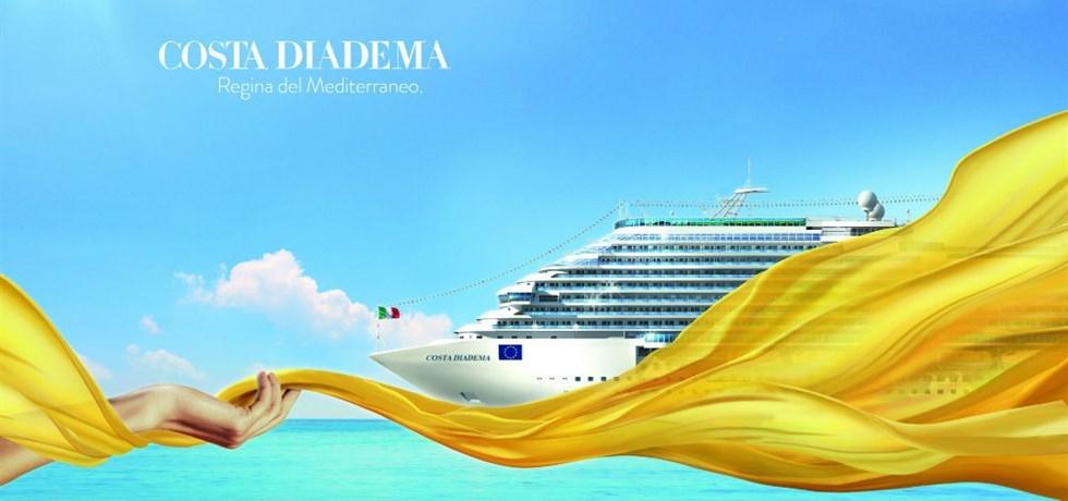 Dernières Cabines pour cet été ! Éclat de la Méditerranée A bord du Costa Diadema 4*
