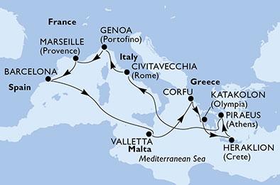 Le charme irresistible de l'histoire grecque - CROISIÈRE AU DÉPART DE GÊNES (ITALIE)