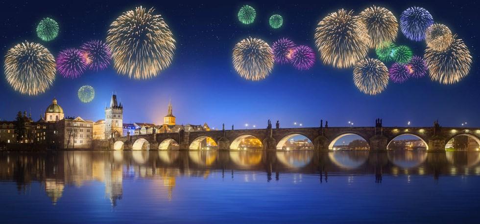 Vols directs Air France ! Nouvel An à Prague 3*