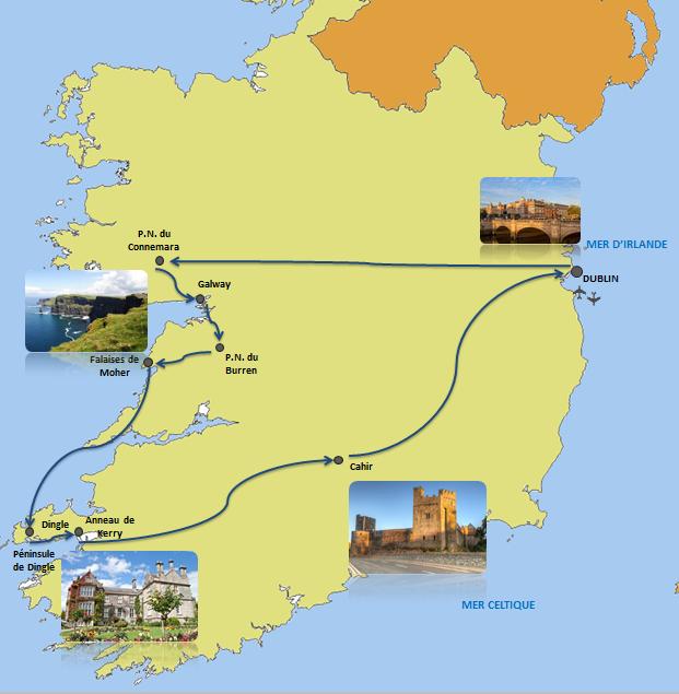 Plus de 60 datant de l'Irlande