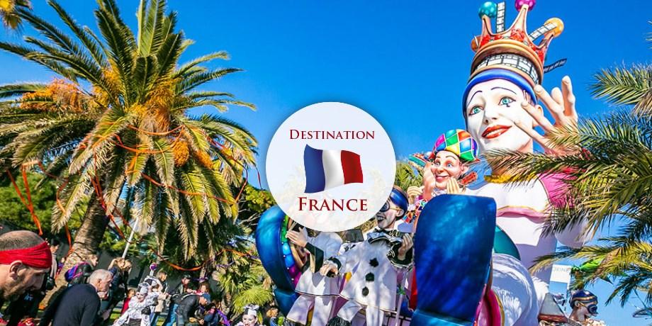 Circuit France, Carnaval de Nice & Fête des Citrons à Menton